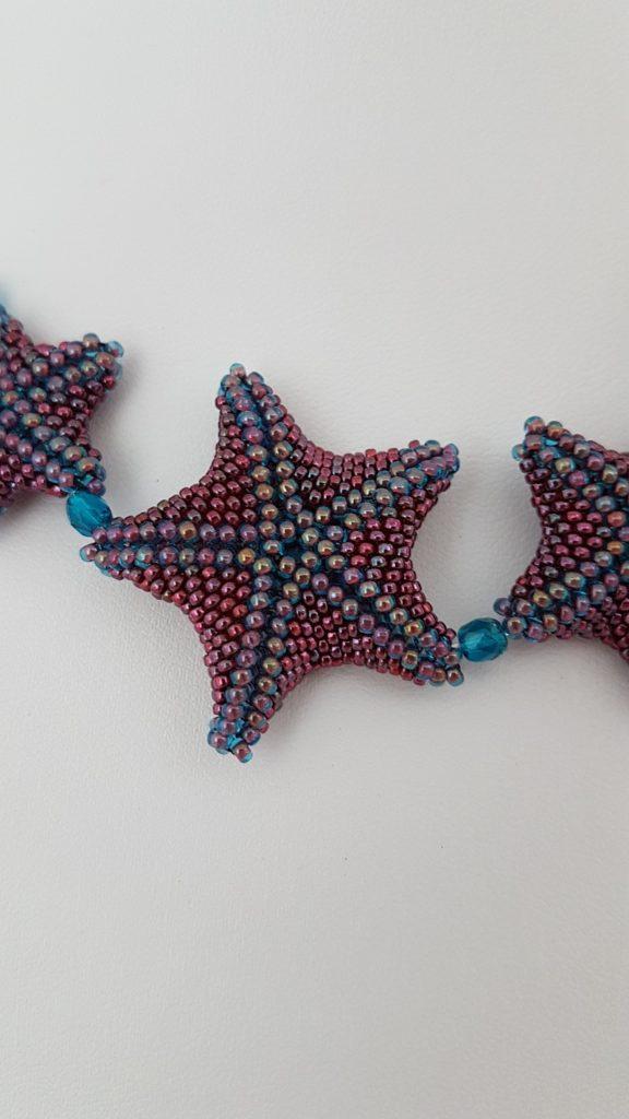 étoiles de mer en perles Miyuki