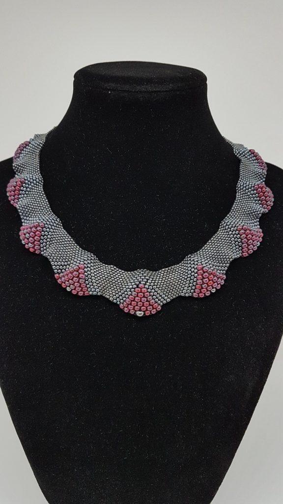 collier en perles de evrre Miyuki