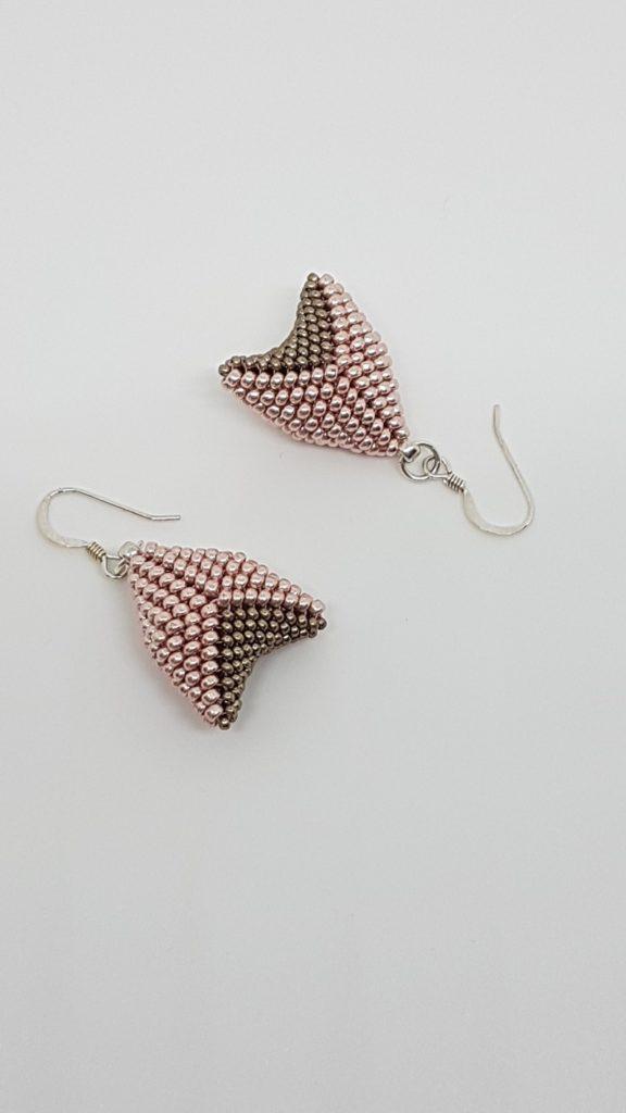 pendentifs en perles de verre